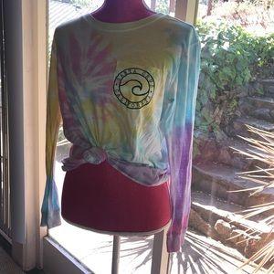 Tie dye Santa Cruz long sleeve